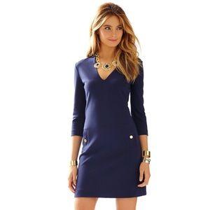 Lilly Pulitzer Charlena V-Neck Knit Shift Dress